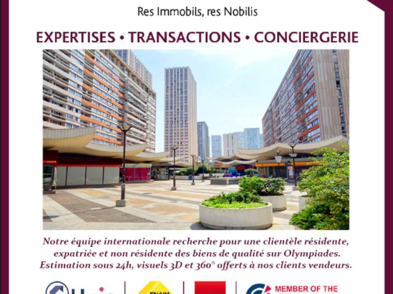 Verkauf wohnung Paris 13ème 317000€ - Fotografie 1