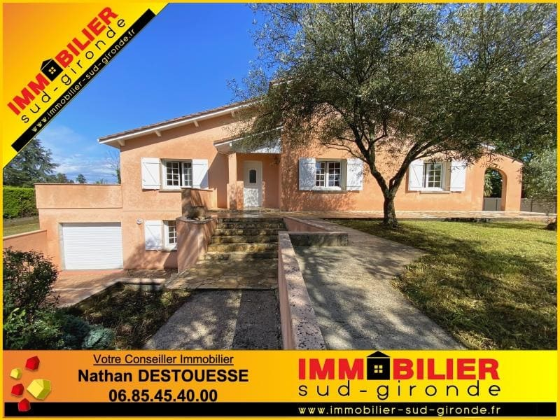 Sale house / villa Podensac 355000€ - Picture 1
