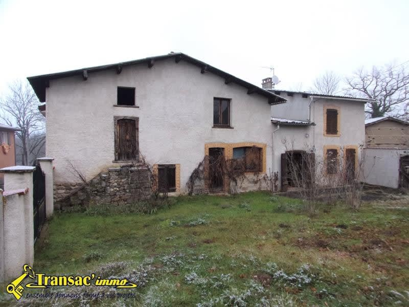Sale house / villa Escoutoux 86 800€ - Picture 1