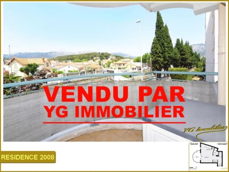 Vente appartement Toulon 75 600€ - Photo 1