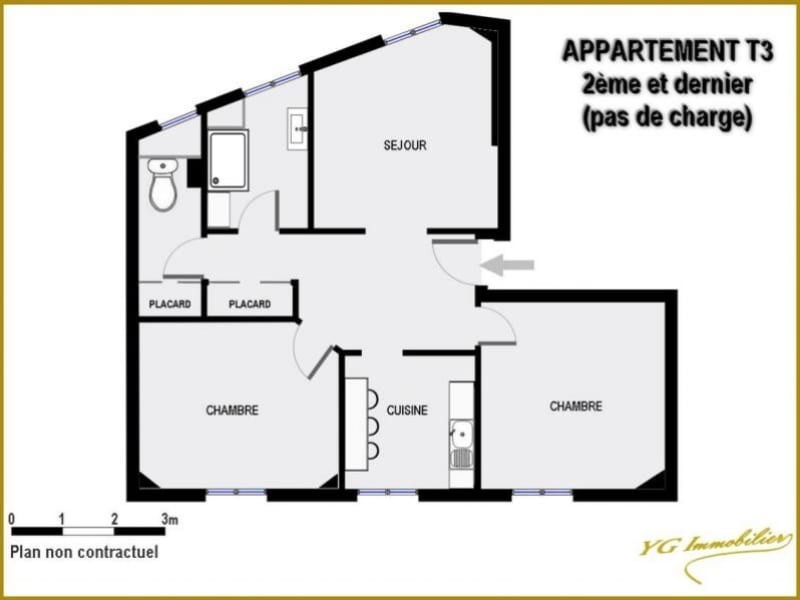 Sale apartment Toulon 138 000€ - Picture 3