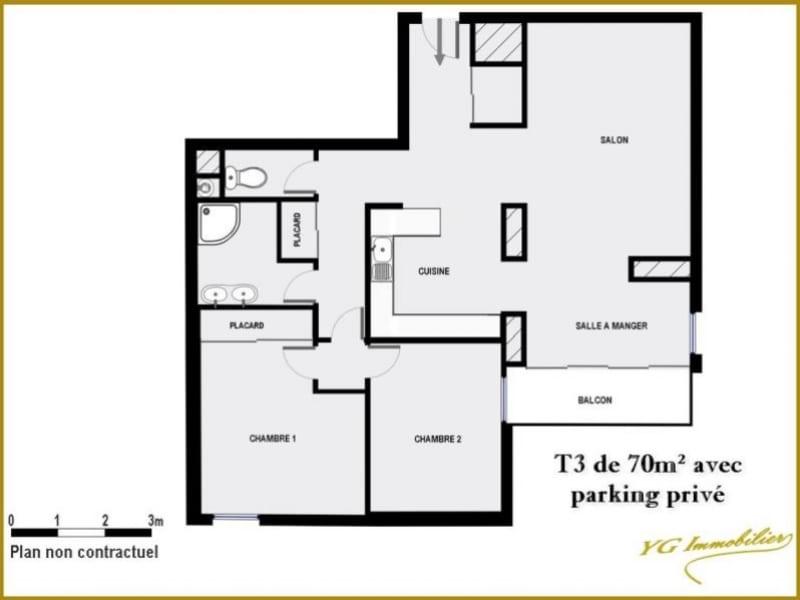 Sale apartment Toulon 154000€ - Picture 2