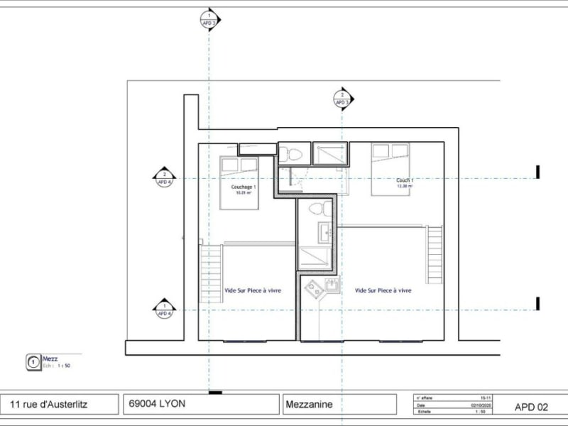 Sale apartment Lyon 4ème 275000€ - Picture 4