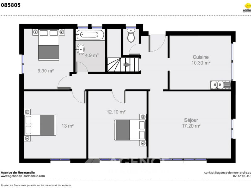 Vente maison / villa Le sap 80000€ - Photo 4