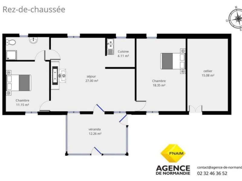 Vente maison / villa Montreuil-l'argillé 70000€ - Photo 2