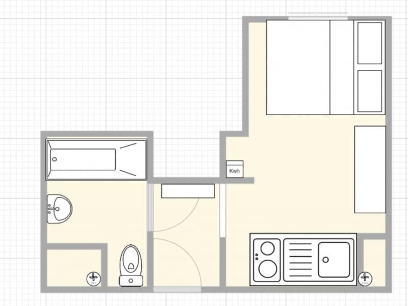 Sale apartment Paris 5ème 217000€ - Picture 2