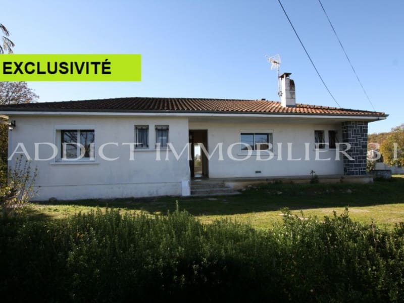 Vente maison / villa Graulhet 150000€ - Photo 1