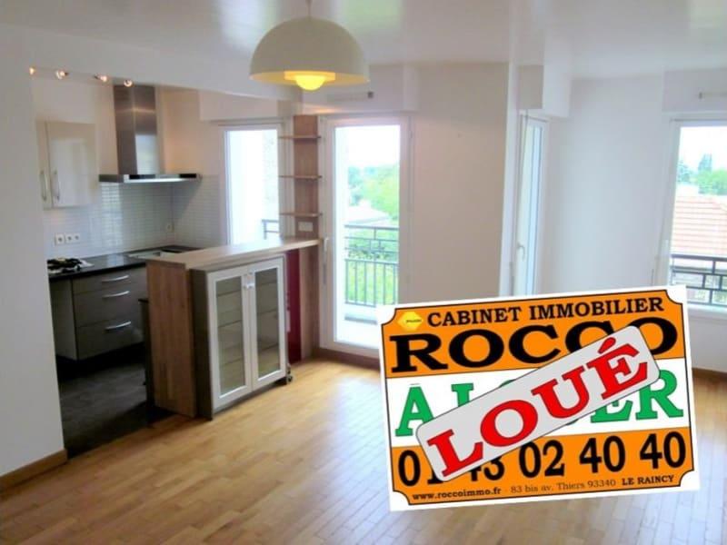Rental apartment Le raincy 1224€ CC - Picture 1
