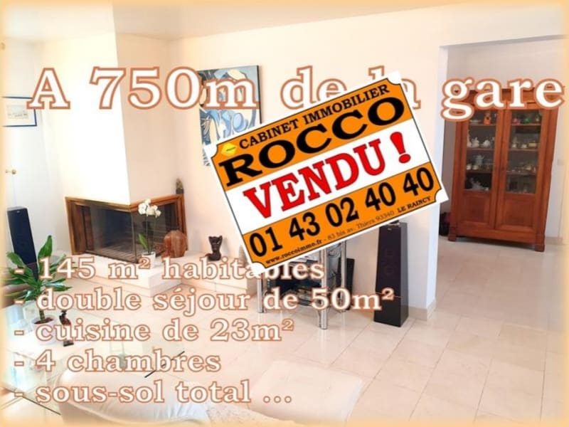 Vente maison / villa Villemomble 580 000€ - Photo 1