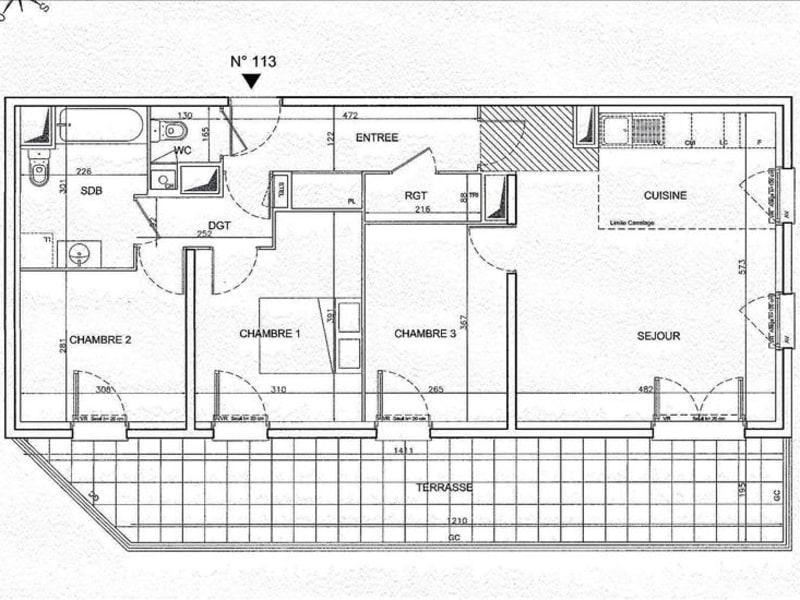 Sale apartment Lagny sur marne 357000€ - Picture 3