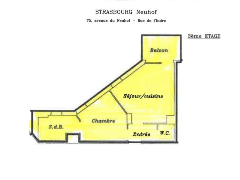 Vente appartement Strasbourg 125000€ - Photo 3