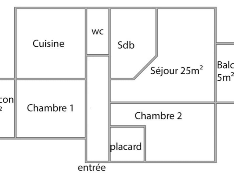 Vente appartement Strasbourg 176 500€ - Photo 2