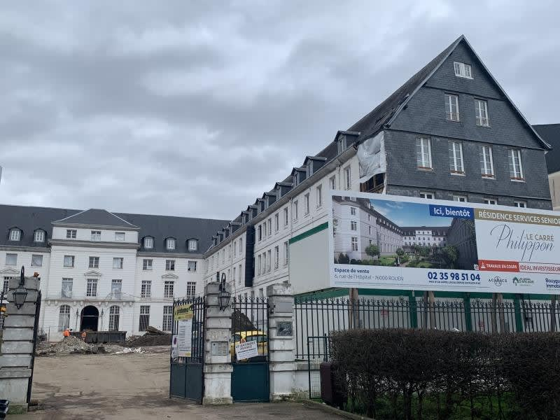 Vermietung geschäftsraum Rouen 780€ HC - Fotografie 5