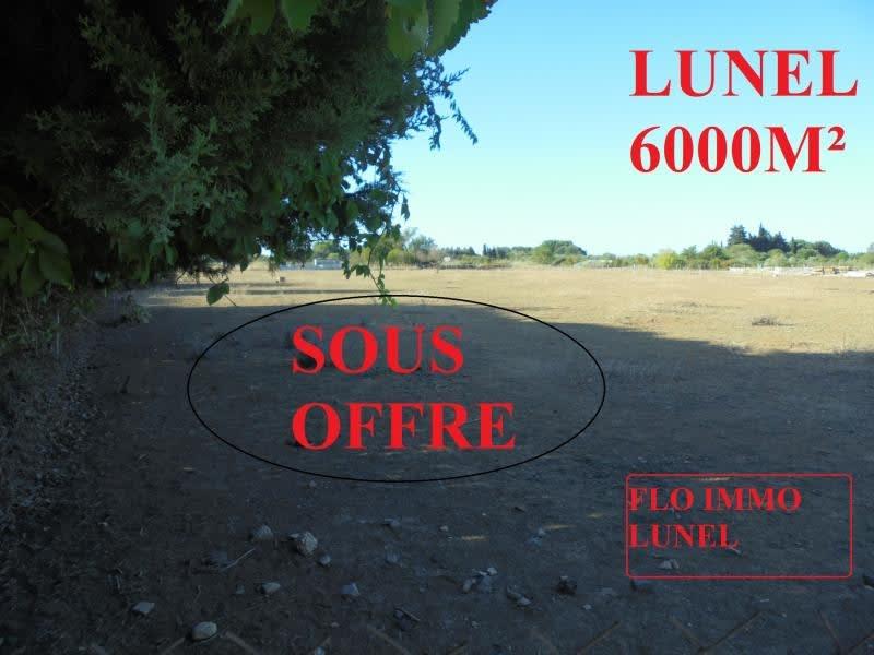 Vente terrain Lunel 37500€ - Photo 1