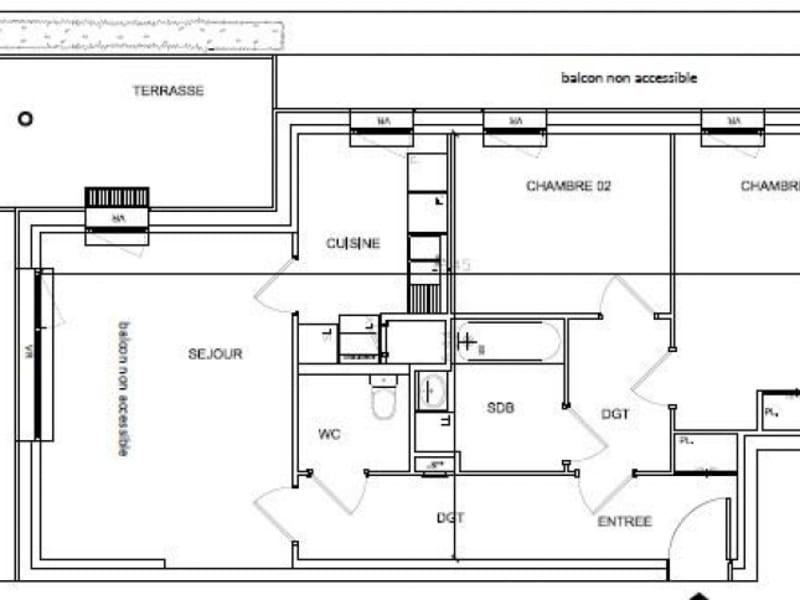 Vente appartement Soissons 111839€ - Photo 8