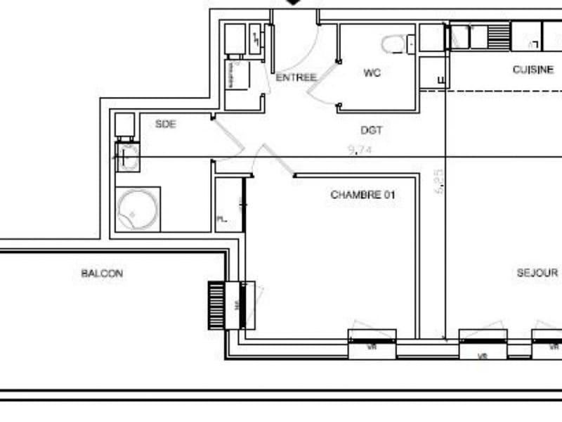 Sale apartment Soissons 96890€ - Picture 3
