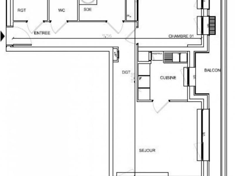 Vente appartement Soissons 106679€ - Photo 2