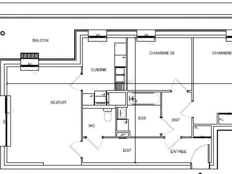 Vente appartement Soissons 127624€ - Photo 4