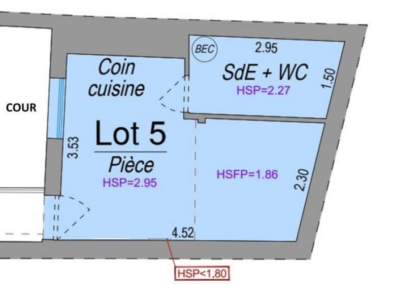 Sale apartment Bordeaux 119000€ - Picture 2