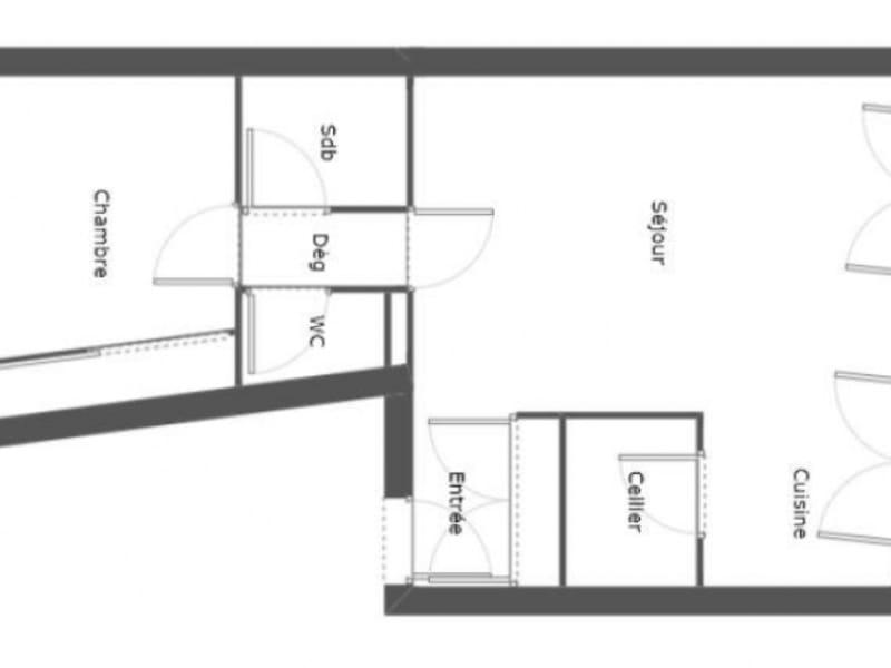 Sale apartment Bordeaux 233200€ - Picture 3