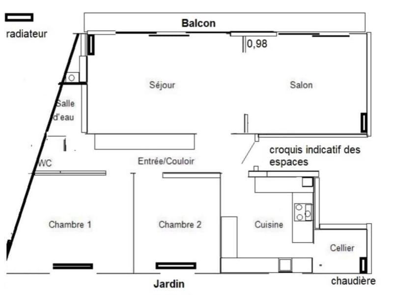 Sale apartment Bordeaux 420000€ - Picture 6
