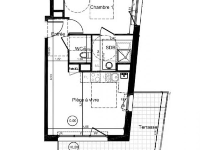 Vente appartement Caen 150000€ - Photo 2