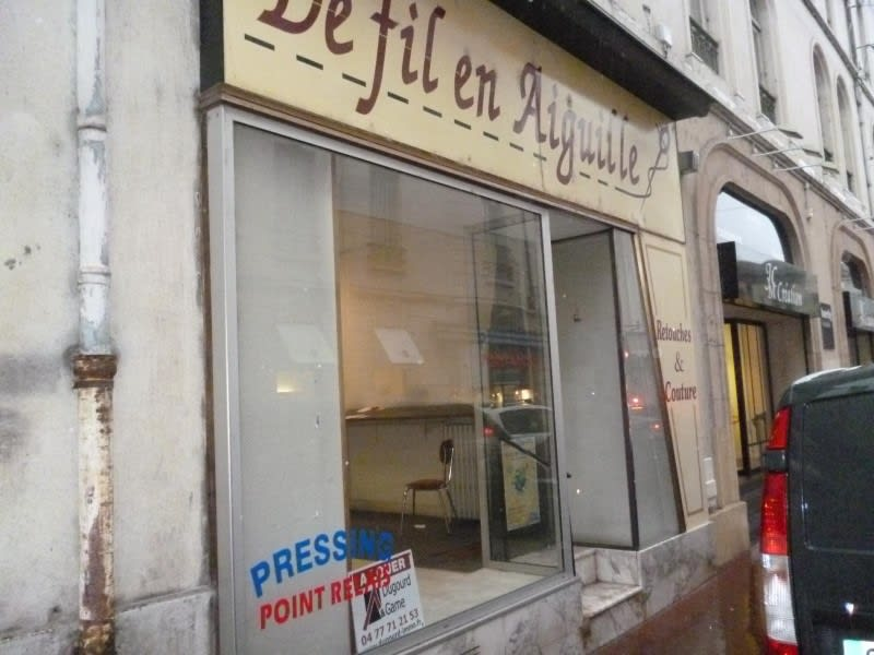 Location local commercial Roanne 500€ HC - Photo 1