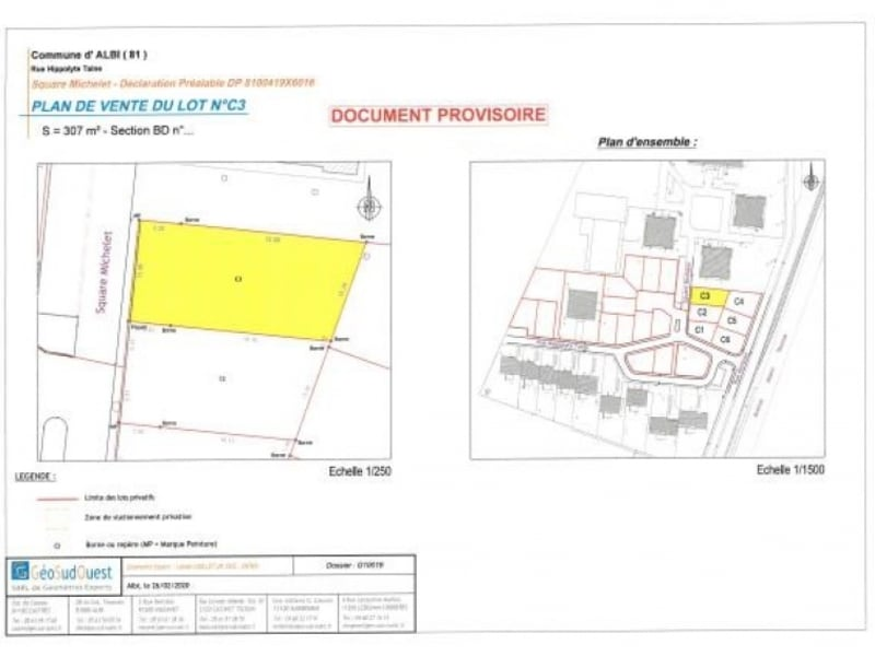 Sale site Albi 53 200€ - Picture 3
