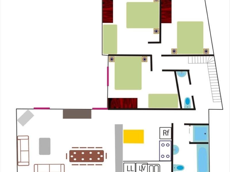 Vente immeuble Apt 2120000€ - Photo 4