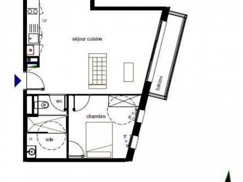 Sale apartment Pompignac 222500€ - Picture 2