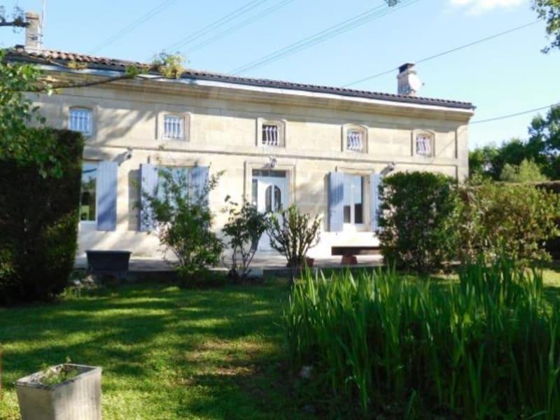 Sale house / villa Pugnac 267000€ - Picture 1