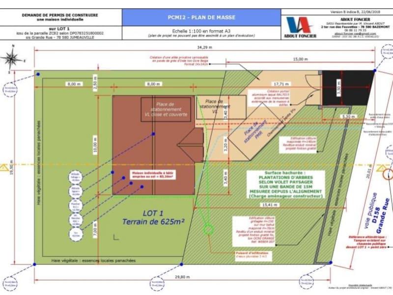 Sale house / villa Jumeauville 377000€ - Picture 3