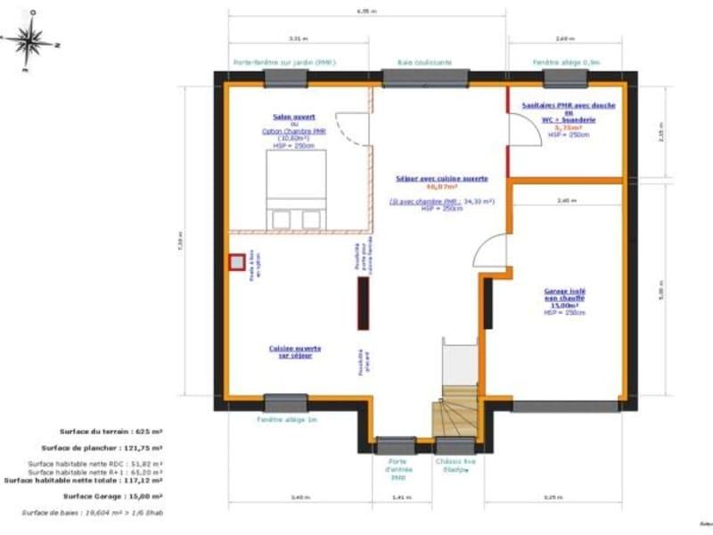 Sale house / villa Jumeauville 377000€ - Picture 4