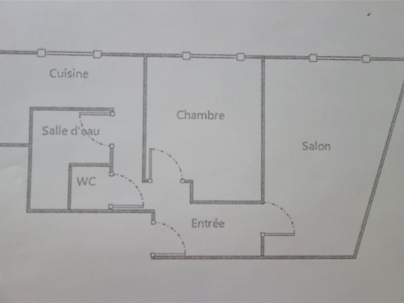 Vente appartement Paris 7ème 498000€ - Photo 3