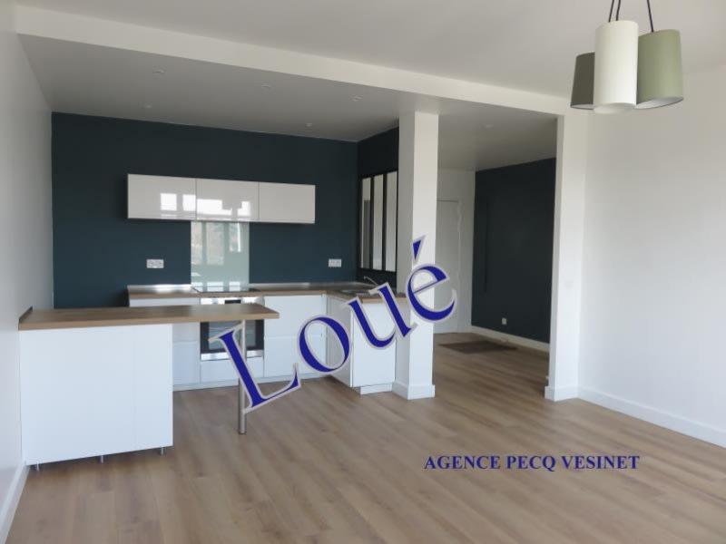 Location appartement Le pecq 990€ CC - Photo 1