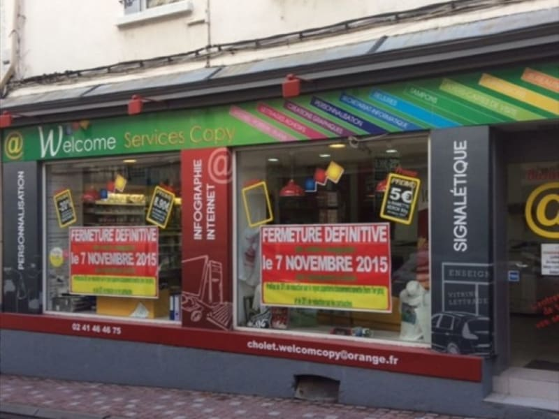 Vente local commercial Cholet 75000€ - Photo 1