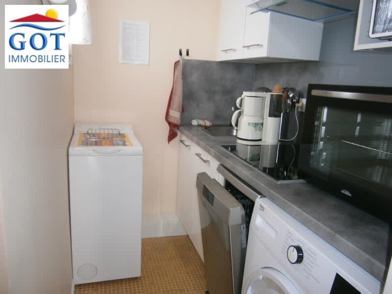 Rental apartment Le barcares 535€ CC - Picture 1