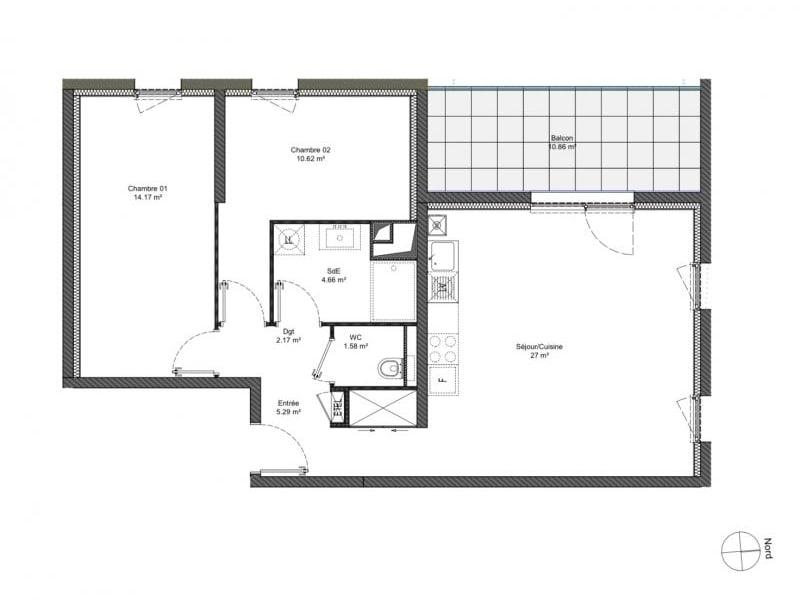 Sale apartment Behlenheim 234800€ - Picture 2
