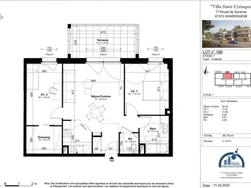 Verkauf von luxusobjekt wohnung Wiwersheim 219450€ - Fotografie 4