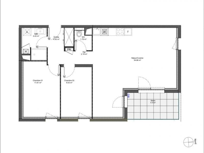 Verkauf wohnung Behlenheim 238000€ - Fotografie 2