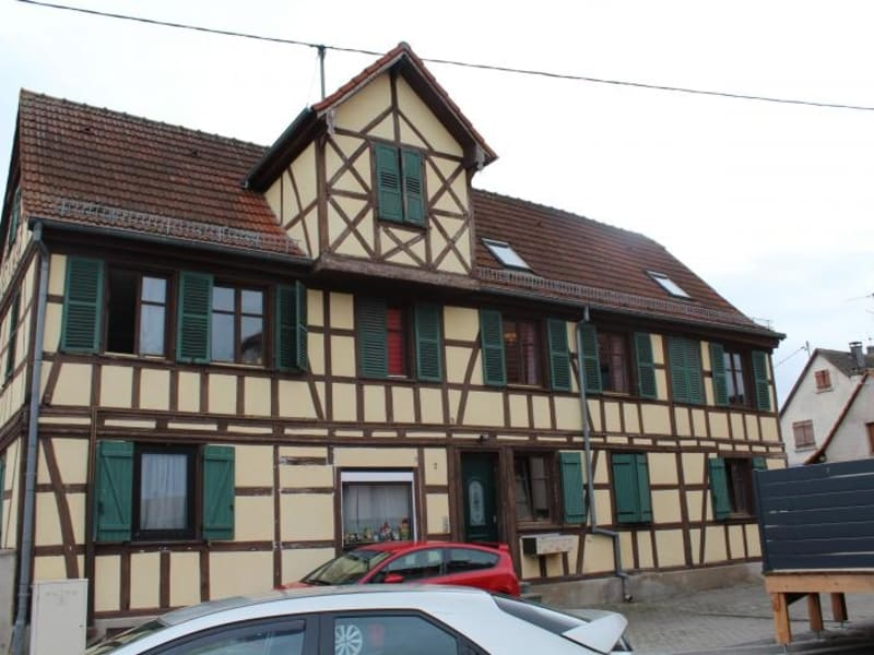 Sale building Benfeld 380 000€ - Picture 1