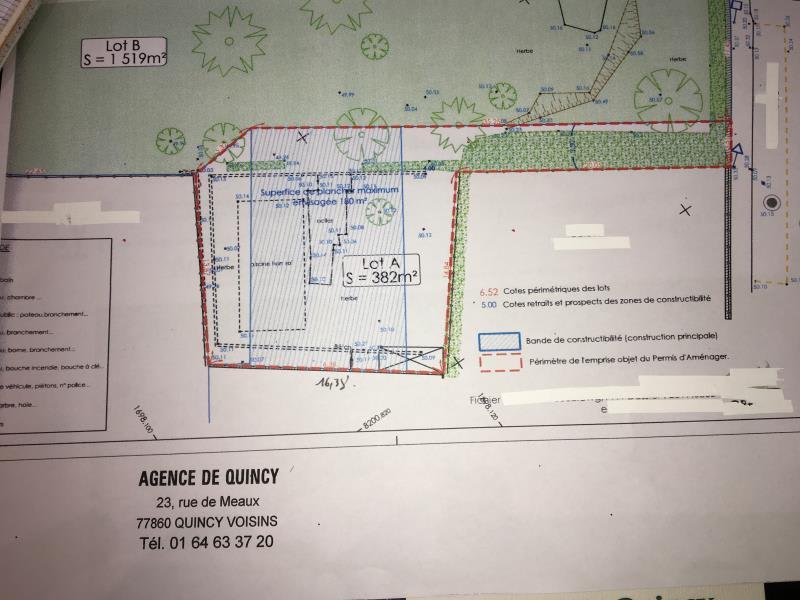 Vente terrain Congis sur therouanne 91000€ - Photo 3