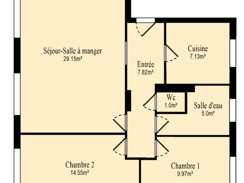 Vente appartement Vanves 496000€ - Photo 12