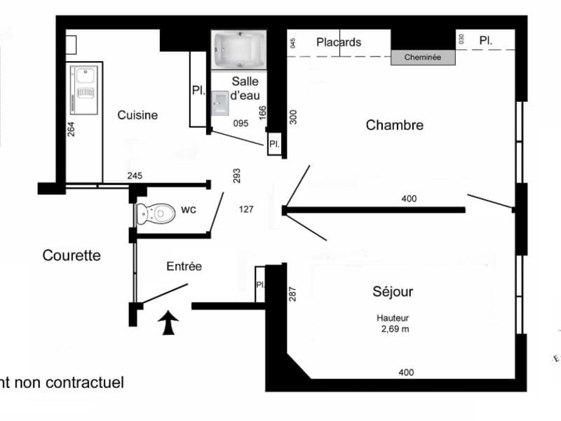 Vente appartement Paris 11ème 440000€ - Photo 3
