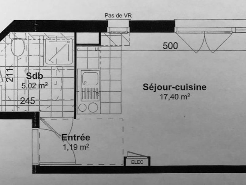 Rental apartment Houilles 695€ CC - Picture 6
