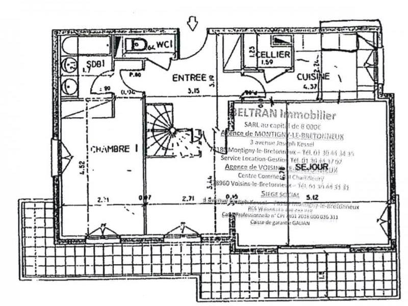 Vendita appartamento Montigny le bretonneux 474000€ - Fotografia 4