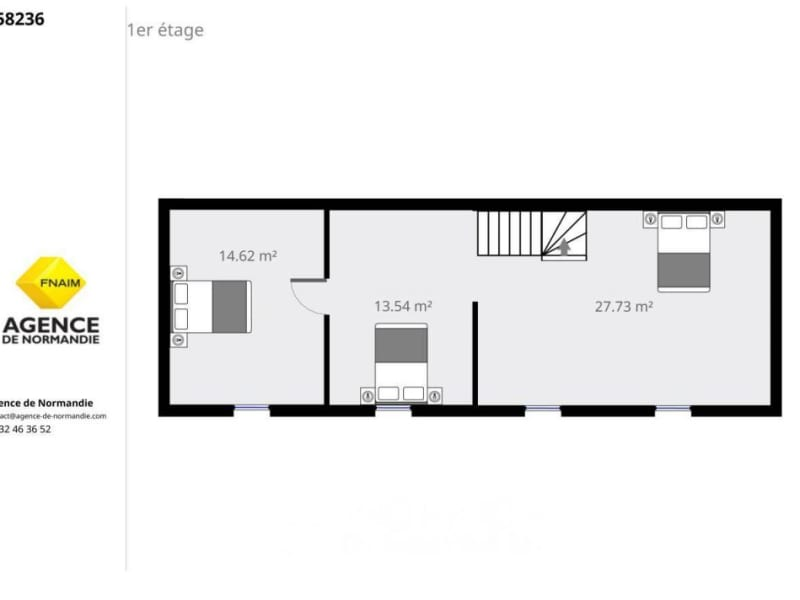 Sale house / villa La ferté-frênel 45000€ - Picture 8