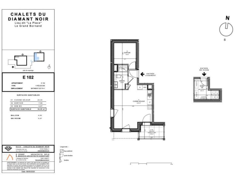 Sale apartment Le grand-bornand 235000€ - Picture 4