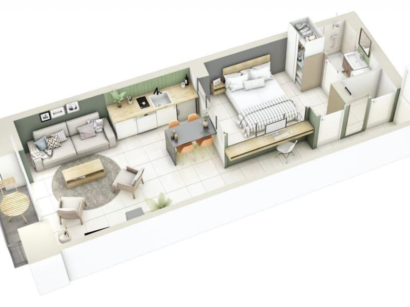 Sale apartment Lyon 3ème 276000€ - Picture 11