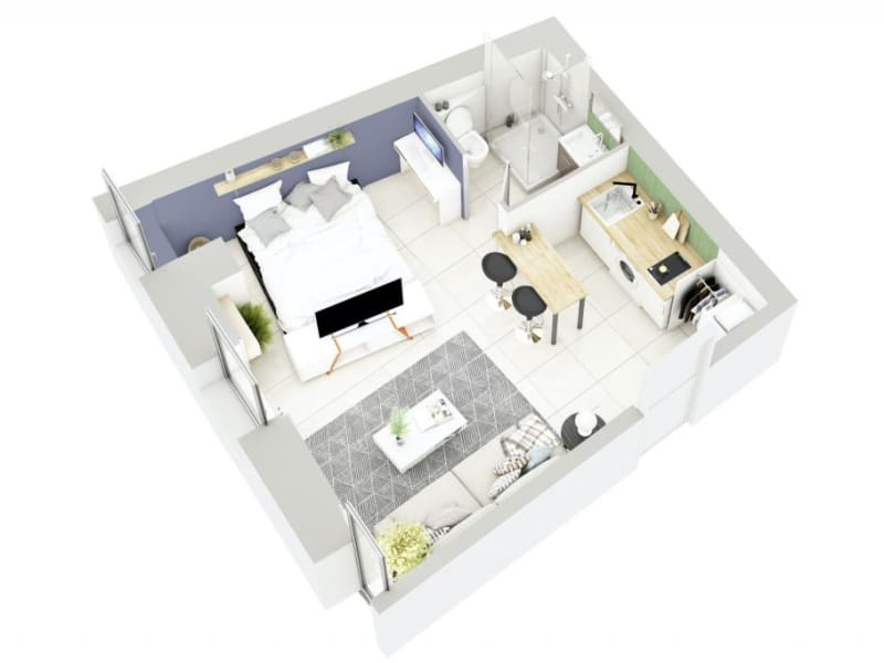 Sale apartment Lyon 3ème 270000€ - Picture 6